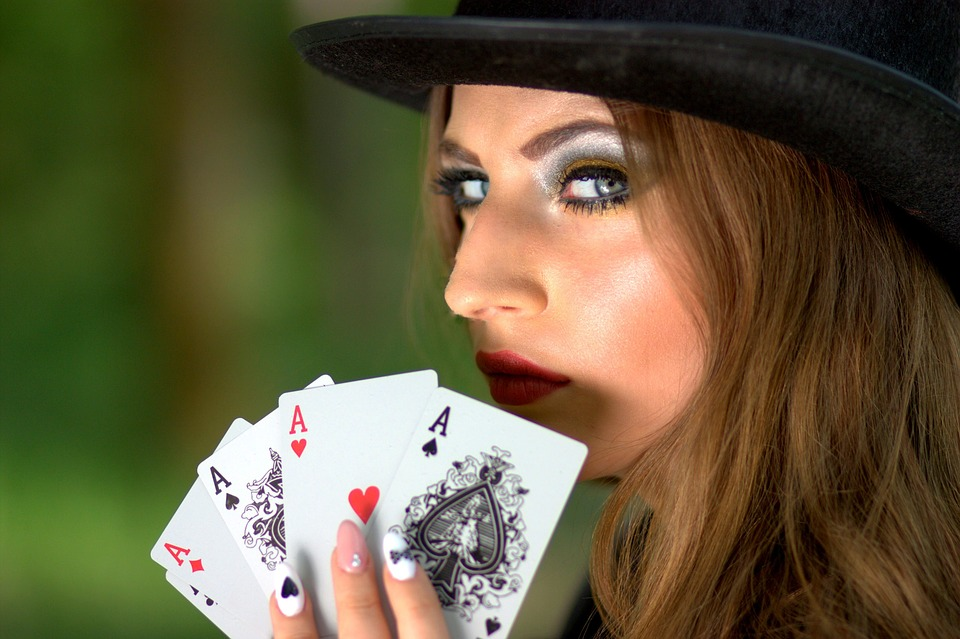 Bluffing in Poker